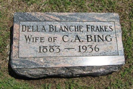BING, DELLA BLANCHE - Cowley County, Kansas | DELLA BLANCHE BING - Kansas Gravestone Photos