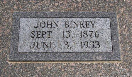 BINKEY, JOHN - Cowley County, Kansas   JOHN BINKEY - Kansas Gravestone Photos