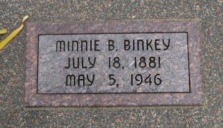 DEAL BINKEY, MINNIE BELLE - Cowley County, Kansas | MINNIE BELLE DEAL BINKEY - Kansas Gravestone Photos