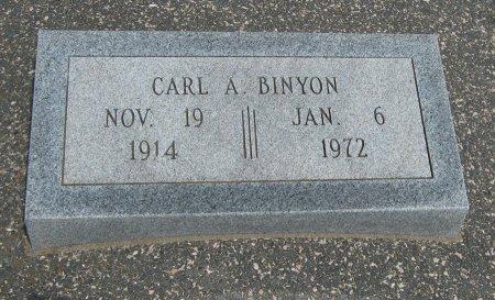 BINYON, CARL A - Cowley County, Kansas | CARL A BINYON - Kansas Gravestone Photos