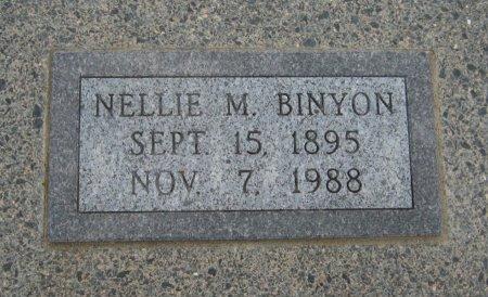 BINYON, NELLIE M - Cowley County, Kansas   NELLIE M BINYON - Kansas Gravestone Photos