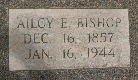 BISHOP, AILCY E - Cowley County, Kansas | AILCY E BISHOP - Kansas Gravestone Photos
