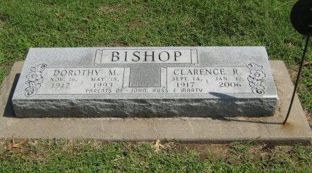 """BISHOP, CLARENCE RUSSELL """"BROWNIE"""" - Cowley County, Kansas 