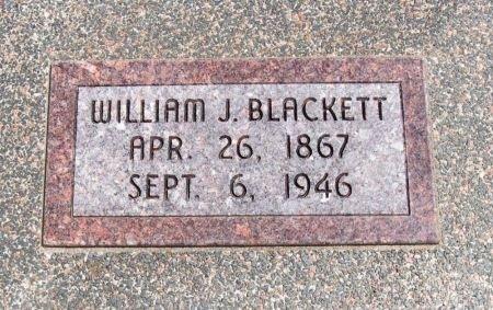BLACKETT, WILLIAM JOHN - Cowley County, Kansas | WILLIAM JOHN BLACKETT - Kansas Gravestone Photos