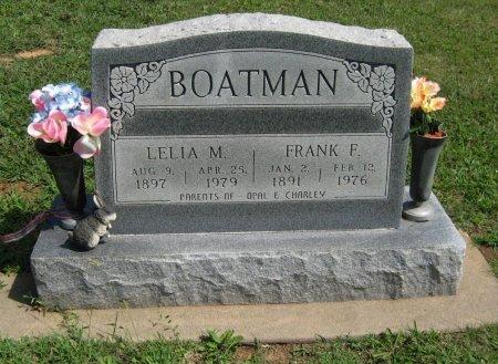 BOATMAN, LELIA M - Cowley County, Kansas   LELIA M BOATMAN - Kansas Gravestone Photos
