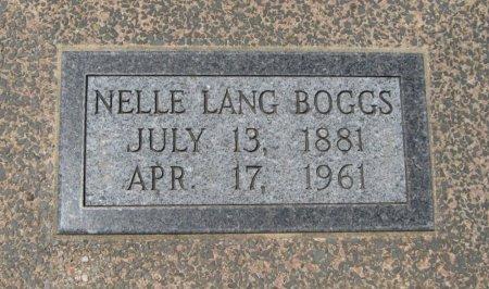 BOGGS, NELLE VIRGINA - Cowley County, Kansas | NELLE VIRGINA BOGGS - Kansas Gravestone Photos