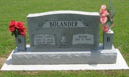 BAUCOM BOLANDER, LINDA CAROL - Cowley County, Kansas | LINDA CAROL BAUCOM BOLANDER - Kansas Gravestone Photos