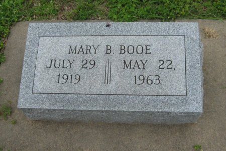 BOOE, MARY BELLE - Cowley County, Kansas   MARY BELLE BOOE - Kansas Gravestone Photos