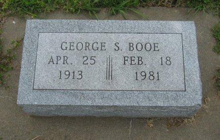 BOOE, GEORGE SIMPSON (VETERAN WWII) - Cowley County, Kansas | GEORGE SIMPSON (VETERAN WWII) BOOE - Kansas Gravestone Photos