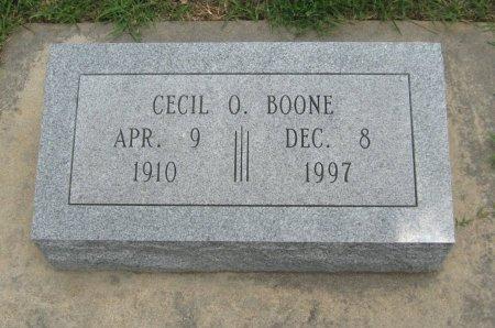BOONE, CECIL ORAL - Cowley County, Kansas | CECIL ORAL BOONE - Kansas Gravestone Photos
