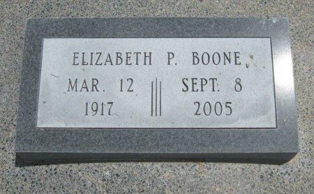BOONE, ELIZABETH P - Cowley County, Kansas   ELIZABETH P BOONE - Kansas Gravestone Photos