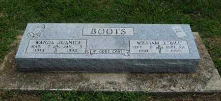 BOOTS, WILLIAM J - Cowley County, Kansas   WILLIAM J BOOTS - Kansas Gravestone Photos