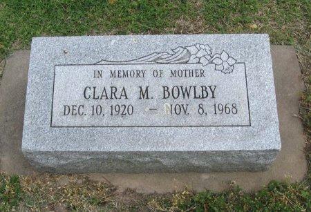 BOWLBY, CLARA M - Cowley County, Kansas | CLARA M BOWLBY - Kansas Gravestone Photos