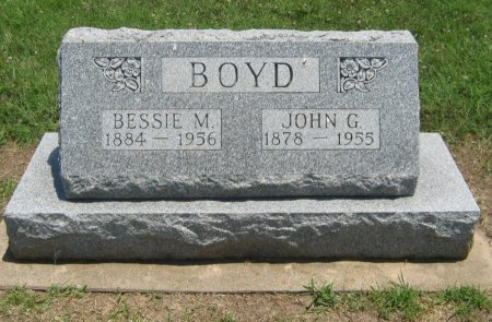 BOYD, JOHN G - Cowley County, Kansas   JOHN G BOYD - Kansas Gravestone Photos