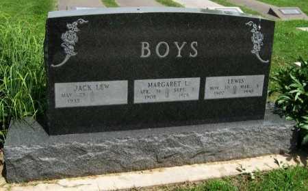 BOYS, LEWIS (VETERAN WWII) - Cowley County, Kansas | LEWIS (VETERAN WWII) BOYS - Kansas Gravestone Photos