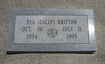 """BRITTON, EVA """"SALLY"""" - Cowley County, Kansas   EVA """"SALLY"""" BRITTON - Kansas Gravestone Photos"""