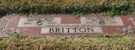 BRITTON, IRA GEORGE - Cowley County, Kansas | IRA GEORGE BRITTON - Kansas Gravestone Photos
