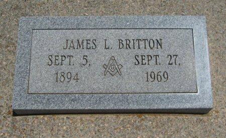 BRITTON, JAMES LAWRENCE  (VETERAN WWI) - Cowley County, Kansas | JAMES LAWRENCE  (VETERAN WWI) BRITTON - Kansas Gravestone Photos