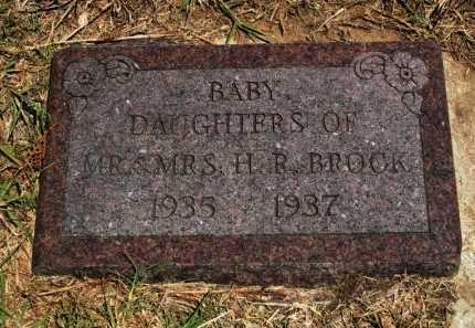 BROCK, BABY DAUGHTER - Cowley County, Kansas   BABY DAUGHTER BROCK - Kansas Gravestone Photos