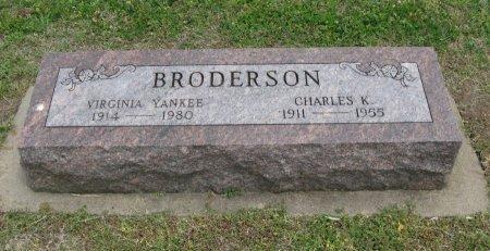 BRODERSON, CHARLES K - Cowley County, Kansas | CHARLES K BRODERSON - Kansas Gravestone Photos