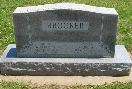BROOKER, WILLIAM A - Cowley County, Kansas   WILLIAM A BROOKER - Kansas Gravestone Photos