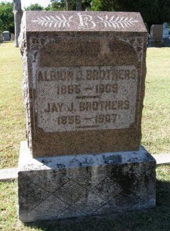 "BROTHERS, DAVID J ""JAY""  - Cowley County, Kansas | DAVID J ""JAY""  BROTHERS - Kansas Gravestone Photos"