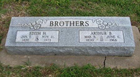 BROTHERS, EDITH - Cowley County, Kansas | EDITH BROTHERS - Kansas Gravestone Photos