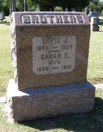 BROTHERS, DAVID JONES - Cowley County, Kansas | DAVID JONES BROTHERS - Kansas Gravestone Photos