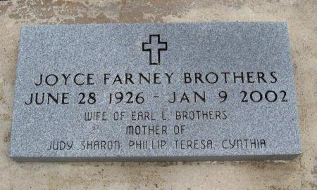 FARNEY BROTHERS, JOYCE LOUISE - Cowley County, Kansas | JOYCE LOUISE FARNEY BROTHERS - Kansas Gravestone Photos