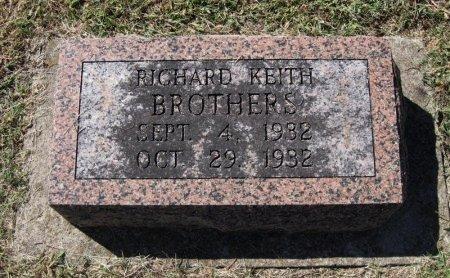 BROTHERS, RICHARD KEITH - Cowley County, Kansas   RICHARD KEITH BROTHERS - Kansas Gravestone Photos
