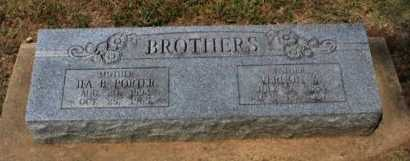 BROTHERS, VERNON WILLIAM - Cowley County, Kansas | VERNON WILLIAM BROTHERS - Kansas Gravestone Photos