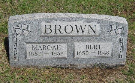 BROWN, BURT - Cowley County, Kansas   BURT BROWN - Kansas Gravestone Photos