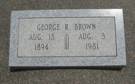 BROWN, GEORGE ROLLO  (VETERAN WWII) - Cowley County, Kansas | GEORGE ROLLO  (VETERAN WWII) BROWN - Kansas Gravestone Photos