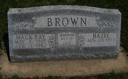 BROWN, HAZEL - Cowley County, Kansas   HAZEL BROWN - Kansas Gravestone Photos