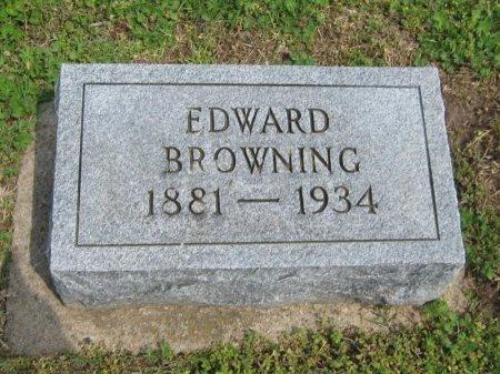 BROWNING, EDWARD - Cowley County, Kansas | EDWARD BROWNING - Kansas Gravestone Photos