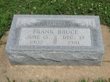 BRUCE, FRANK - Cowley County, Kansas | FRANK BRUCE - Kansas Gravestone Photos