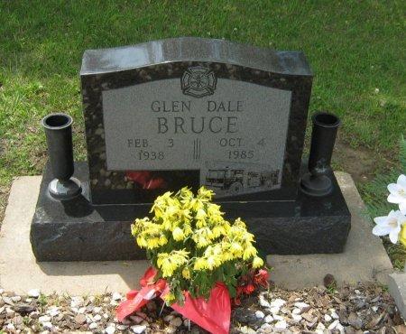 BRUCE, GLEN DALE - Cowley County, Kansas | GLEN DALE BRUCE - Kansas Gravestone Photos