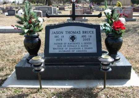 BRUCE, JASON THOMAS - Cowley County, Kansas   JASON THOMAS BRUCE - Kansas Gravestone Photos