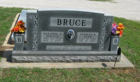 BRUCE, MARJORIE ANN - Cowley County, Kansas   MARJORIE ANN BRUCE - Kansas Gravestone Photos