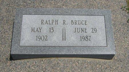 BRUCE, RALPH R - Cowley County, Kansas | RALPH R BRUCE - Kansas Gravestone Photos