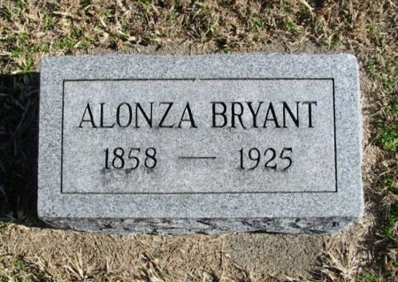 BRYANT, ALONZO - Cowley County, Kansas   ALONZO BRYANT - Kansas Gravestone Photos