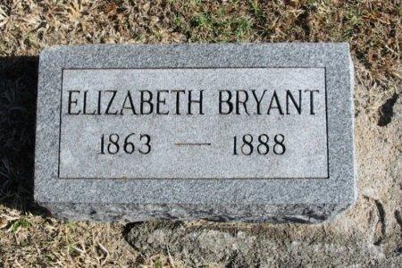 BRYANT, ELIZABETH - Cowley County, Kansas | ELIZABETH BRYANT - Kansas Gravestone Photos