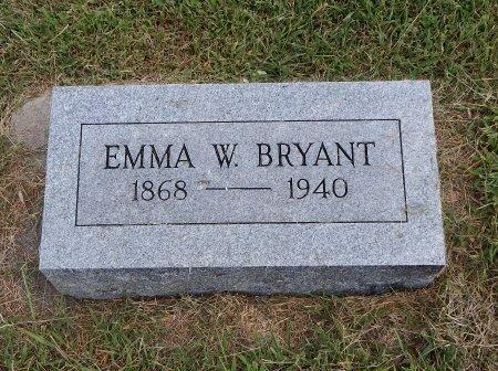 BRYANT, EMMA - Cowley County, Kansas   EMMA BRYANT - Kansas Gravestone Photos
