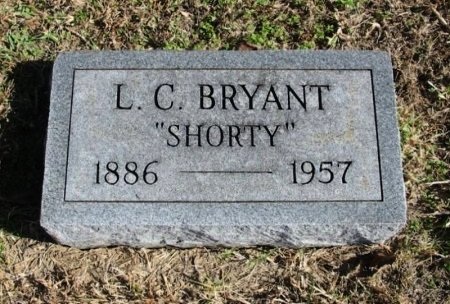 "BRYANT, LEWIS C ""SHORTY"" - Cowley County, Kansas | LEWIS C ""SHORTY"" BRYANT - Kansas Gravestone Photos"