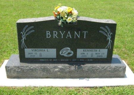 BRYANT, KENNETH E (VETERAN KOR) - Cowley County, Kansas   KENNETH E (VETERAN KOR) BRYANT - Kansas Gravestone Photos