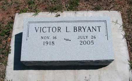 BRYANT, VICTOR LLEWELLYN - Cowley County, Kansas   VICTOR LLEWELLYN BRYANT - Kansas Gravestone Photos