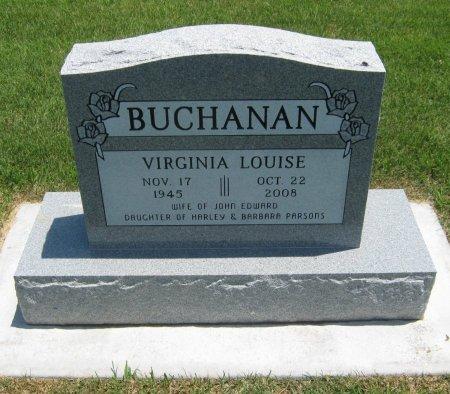 BUCHANAN, VIRGINIA LOUISE - Cowley County, Kansas   VIRGINIA LOUISE BUCHANAN - Kansas Gravestone Photos