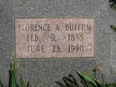 BUFFUM, FLORENCE ALICE - Cowley County, Kansas   FLORENCE ALICE BUFFUM - Kansas Gravestone Photos