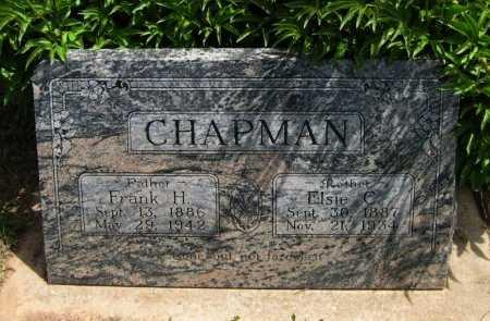 CHAPMAN, FRANK H - Cowley County, Kansas   FRANK H CHAPMAN - Kansas Gravestone Photos
