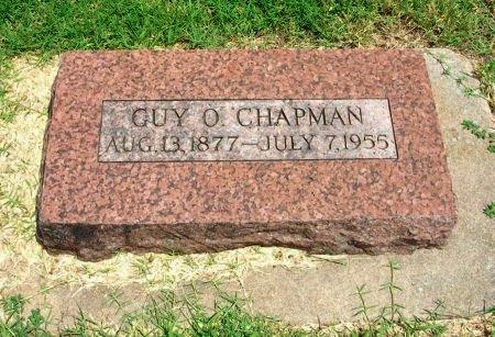 CHAPMAN, GUY O - Cowley County, Kansas | GUY O CHAPMAN - Kansas Gravestone Photos